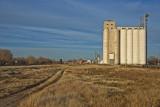 Waynoka, Oklahoma Concrete Grain Elevator.