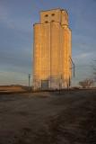 Hopeton, Oklahoma Concrete Grain Elevators.