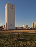 Waukomis, Oklahoma Concrete Grain Elevator.