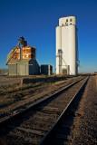Imo, Oklahoma Concrete Grain Elevator.