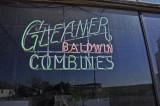 Gleaner Badlwin Combine Neon Sign-Adams, Oklahoma.