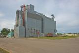 Luverne, Minnesota Wood Grain Elevator.