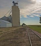 Magnolia, Minnesota Concrete Grain Elevator.