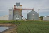 Kenneth, Minnesota old wood grain elevator.