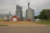 Edgerton, Minnesota Wood Grain Elevator.