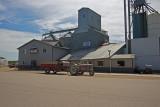 Chandler, Minnesota Old Wood Grain Elevator.