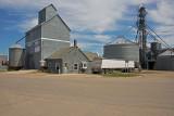 Lake Wilson, Minnesota Old Wood Grain Elevator.