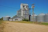 Avoca, Minnesota Old Wood Grain Elevator.