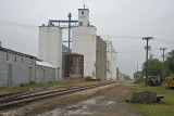 Moundridge, Kansas Concrete Grain Elevators.