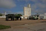 Lindsborg, Kansas Concrete Grain Elevator.