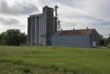 Marquette, Kansas Concrete Grain Elevator.