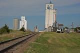 Claflin, Kansas Concrete Grain Elevator.