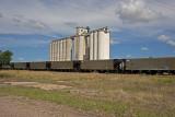 Hoisington, Kansas Concrete Grain Elevator.