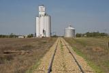 Alamota, Kansas Concrete Grain Elevator.