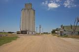 Nekoma, Kansas Concrete Grain Elevator.