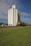 Galva, Kansas Concrete Grain Elevator.