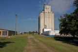 Canton, Kansas Concrete Grain Elevator.