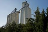 Canton, Kansas Concrete Grain Elevators.