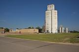 Lehigh, Kansas Grain Elevators.