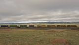 UP Stack Trains at Hermosa, Wyoming.