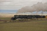 Union Pacific Big Boy Steam Engine west of Hermosa, Wyoming.