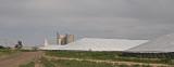 Coolidge, Kansas Concete Grain Elevators.