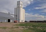 Coolidge, Kansas Concrete Grain Elevator.