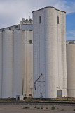 Sycause, Kansas Concrete Grain Elevators.