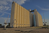 Lakin, Kansas Concrete Grain Elevators.