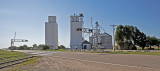 Hickok, Kansas Concrete Grain Elevators.