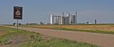 Sullivan, Kansas Grain Elevators.