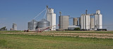 Milepost, Kansas Grain Elevators.