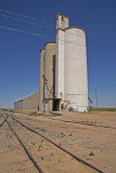 Big Bow, Kansas Concrete Grain Elevator.