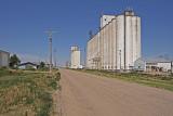 Johnson, Kansas Concrete Grain Elevators-Elevator Row.