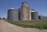 Manter, Kansas Tile Grain Elevator.