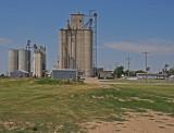 Manter, Kansas Grain Elevators.