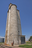 Saunders, Kansas West Concrete Grain Elevator.