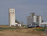 Bristol, Colorado Grain Elevators.