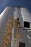 Monte Vista, Colorado Concrete Grain Elevator.