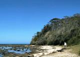Broulee Island - seaward end