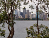 City skyline from Robertsons Point