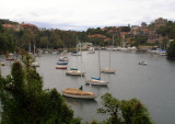 Boats in Mosman Bay