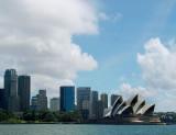 Sydney CBD: North end and Opera House