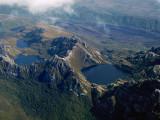 Glacial lakes in Tasmania
