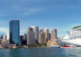 Cruise ship in Sydney Cove