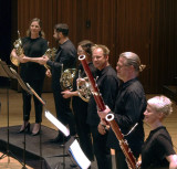 Four horns, two bassoons
