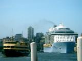 Sydney Harbour - the busy bit