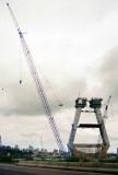Anzac Bridge under construction