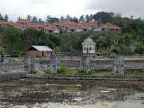 Remains of water palace at Ujung