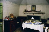 Restored  boarding-house parlour